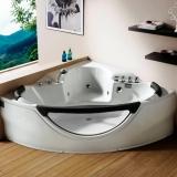 Ванна акриловая GEMY 1550*1550*700 мм G9025-II K купить