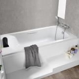 Ванна акриловая ROCA Becool 180*80 ZRU9302782 купить