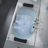 Ванна акриловая ROCA Becool Biplaza 190*110 247989001 купить