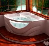 Ванна из гелькоута ТРИТОН Виктория 1600x1600 мм левая купить