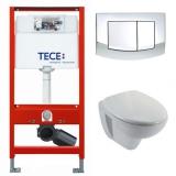 Комплект инсталляции TECE с унитазом Jacob Delafon Mideo 9400005E4345 купить