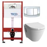 Комплект инсталляции TECE с унитазом VITRA S50 SoftClose 9400005-5318B003-6039 купить