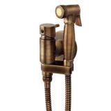 Гигиенический душ со смесителем WELLWOOD бронза DI-100000200 купить