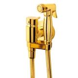 Гигиенический душ со смесителем WELLWOOD золото DI-100000300 купить