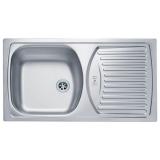 Мойка кухонная в базу 45 см ALVEUS Basic 150 1009298 декор купить