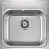 Мойка кухонная в базу 45 см ALVEUS Basic 140 декор 1009303 купить