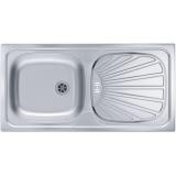 Мойка кухонная в базу 50 см ALVEUS Basic 80 нержавеющая сталь 1008844 купить