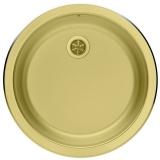 Мойка кухонная в базу 45 см ALVEUS Form Vintage 10 бронза 1070589 купить