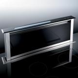 вытяжка кухонная BEST Strip 90 см нержавеющая сталь - черное стекло купить