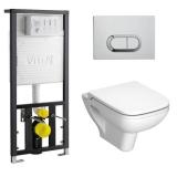 Инсталляция с унитазом VITRA S20 9004B003-7204 купить
