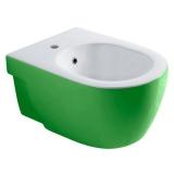 Биде подвесное OLYMPIA Nicole All colors 37 х 55 см белый - зеленый 17NI01V купить