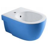 Биде подвесное OLYMPIA Nicole  37 х 54 см голубое 17NI01B купить