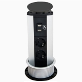 Встраиваемая розетка SCHULTE  EVOline Port USB Charger 931.03.871 купить