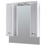 Шкаф зеркальный AM PM Bourgeois 85см белый глянец M65MPX0851WG купить