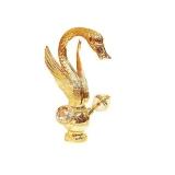 Смеситель для раковины MIGLIORE Cristalia Swan золото ML.CSW-3834.DO купить