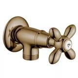 Вентиль запорный угловой MIGLIORE Princeton Plus бронза ML.PRP-8057.BR купить