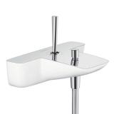 Смеситель для ванны HANSGROHE PuraVida хром/белый 15472400 купить