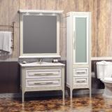 Мебель для ванной OPADIRIS Корлеоне 100 белый с бежевой патиной купить