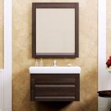Мебель для ванной подвесная OPADIRIS Лаварро 70 венге купить