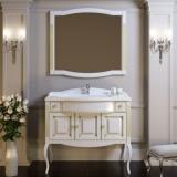Мебель для ванной OPADIRIS Лаура 100 Florentina белый с патиной купить