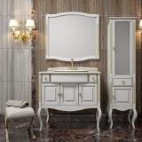 Мебель для ванной OPADIRIS Лаура 100 Vidima белый с патиной купить