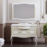 Мебель для ванной OPADIRIS Лаура 120 Florentina белый с патиной купить