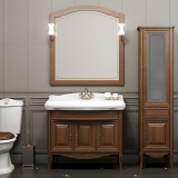 Мебель для ванной OPADIRIS Лоренцо 100 белый с патиной купить