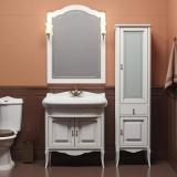 Мебель для ванной OPADIRIS Лоренцо 80 белый с патиной купить