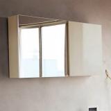 Шкаф зеркальный BELBAGNO Luce 1000 мм Tortora Lucido BB1000PAC/TL купить