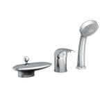 Смеситель для ванны на 3 отверстия каскадный RAVAK Rosa RS 025.00 X07P003 купить