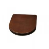 Крышка сиденье HATRIA Dolcevita SoftClose бронза-орех YXXG01 купить
