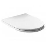 Крышка сиденье HATRIA Dolcevita SoftClose хром-белый YXXR01 купить