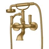 Смеситель для ванны BOSSINI Liberty бронза Z001103.022 купить