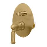 Смеситель для ванны встраиваемый BOSSINI Liberty бронза Z001202.022 купить