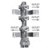 Скрытая часть термостатического смесителя на 4 потребителя BOSSINI Z030271000 купить