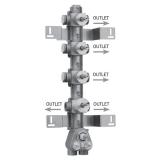 Скрытая часть термостатического смесителя на 5 потребителей BOSSINI Z030275000 купить