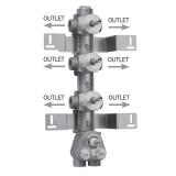 Скрытая часть термостатического смесителя на 6 потребителей BOSSINI Z030276000 купить