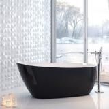 Ванна акриловая EXELLENT Comfort Plus 175x75 Белая-Черная купить