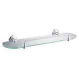 Полка стеклянная ZEEGRES Asti 23114101 купить