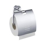 Держатель для туалетной бумаги с крышкой ZEEGRES Fano 25106001 купить