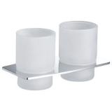 Стакан для зубных щёток двойной ZEEGRES Style 24119101 купить