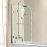 Шторка на ванну CEZARES Retro 815*1520 RETRO-V-1-80/145-CP-Cr-L купить