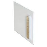 Дверь тумбы под умывальник RAVAK Chrome SD 400 L белая X000000540 купить