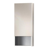 Зеркальный шкаф VALENTE Miragio 400*150*900 мм белый глянец Vlt 400  12 01/02W купить