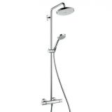 Душевая система HANSGROHE Croma 220 Showerpipe 27185000 купить