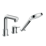 Смеситель для ванны на 3 отверстия HANSGROHE Talis S 72417000 купить