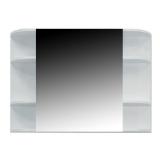 Шкаф зеркальный VALENTE Festa 750х163х650 мм Fst750.12Wh купить