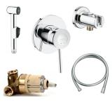 Гигиенический душ встраиваемый GROHE Bau Classic 124434 купить