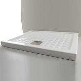 Душевой поддон керамический AXA Thaj 900*900*60 мм белый 5110001 купить