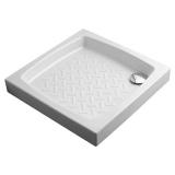 Душевой поддон керамический OLYMPIA Comino 720*720*110 мм 4900011 купить